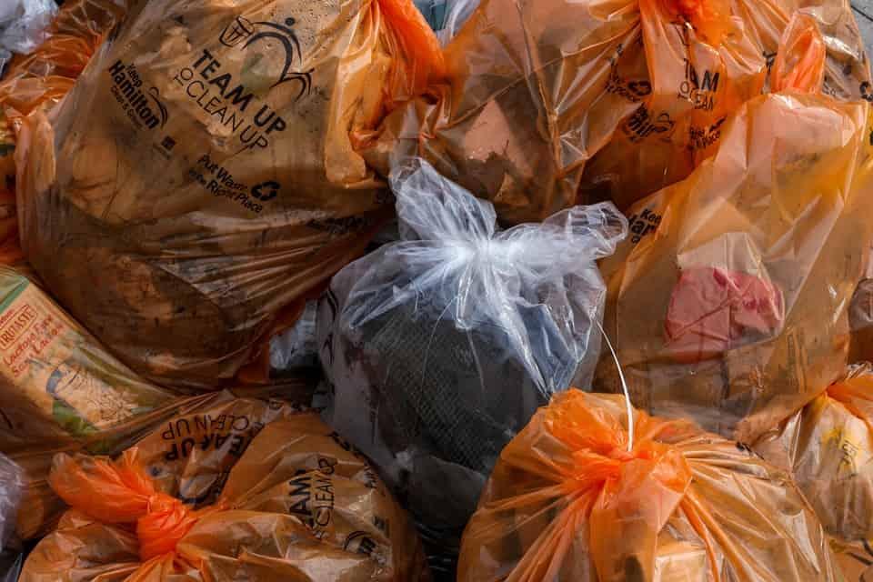 műanyag zsák