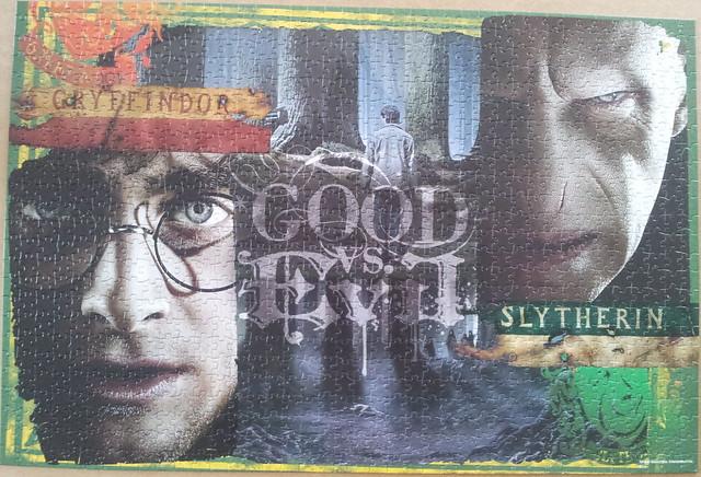 Harry Potter poszter puzzle